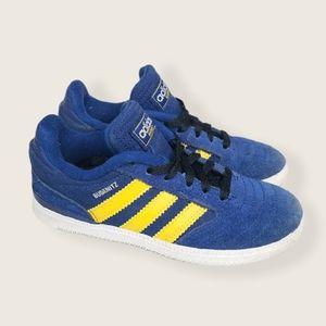 Adidas Busenitz blue yellow boys sneakers size 11